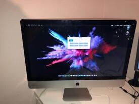 "iMac 27"" 16gb ram ssd or hd"