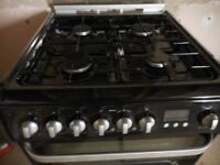 Gas Hob, Electric Oven