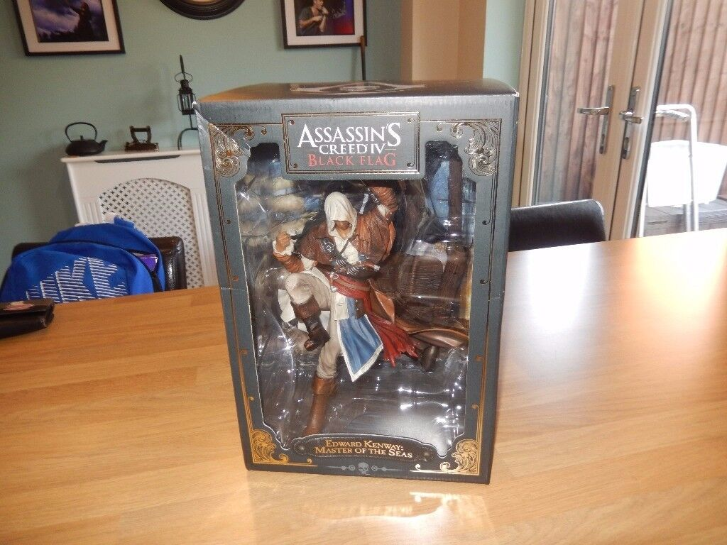 Assassins creed Figure Black Flag Edward Kenway - Ubisoft Version - BNIB
