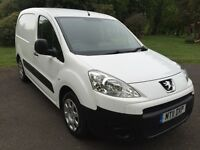 2011 Peugeot Partner, ( berlingo) 1 Years mot, No VAT, Good History