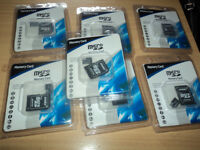 8 2 GB Micro SD Memory Cards.