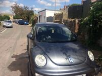 Beautiful, reliable VW Beetle 2001 1.6ltr petrol hatchback with 10 months MOT for sale.
