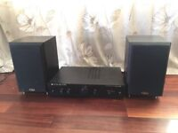 Cambridge audio amplifier and eltax speakers