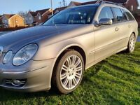 MERCEDES E320 CDI SPORT ESTATE 3.0 DIESEL FMBSH MOT 09/17 SATNAV LEATHER MAY P/X P/EX PART EXCHANGE