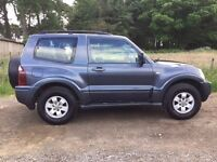 2005 05 Mitsubishi Shogun 3.2 DI-D 3 door Equippe 100k Dark Metallic Grey