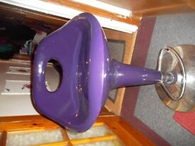 purple stool