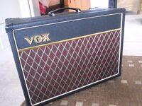 Vox AC15C1 - Speaker upgrade, Vox Cover, RAT Dummy Load Box - FANTASTIC!!