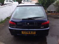 EXCELLENT condition Peugeot 306 leather seats