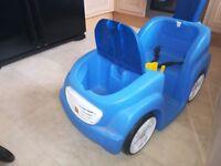 Step 2 blue car