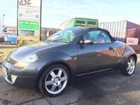 2005 FORD STREET KA CONVERTIBLE **FULL FORD SERVICE HISTORY** LOW MILEAGE 56K, FULL LEATHER