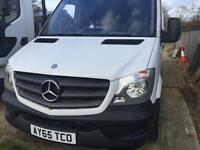 Mercedes Sprinter AUTO - LWB - just 900 miles only - Genuine