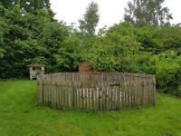 4ft picket fence