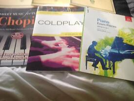 7 piano books