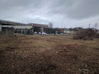 Land available to let/rent - prime location for business - price negotiable