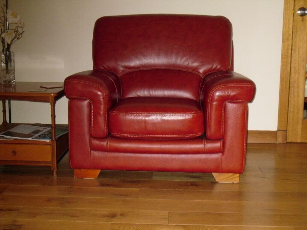Bardi Bufalo Diamante Sofa And Chair In Burntisland