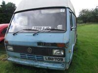 VT LT35 diesel, High top van. SELL TO THE HIGHEST OFFER THIS WEEK.