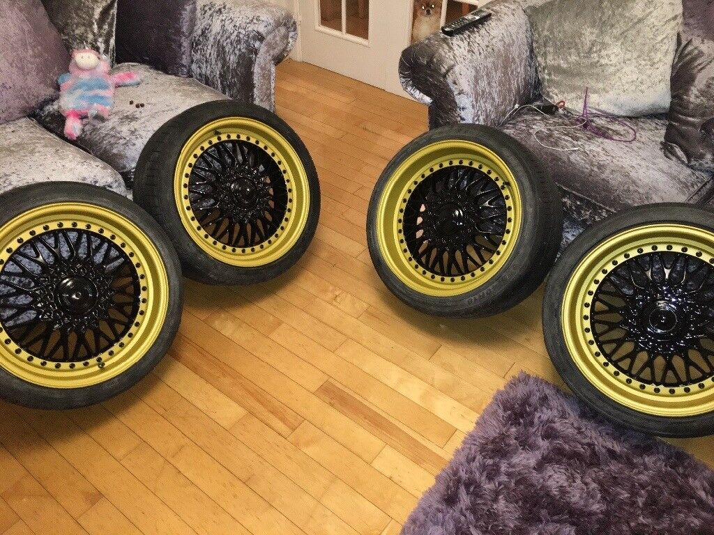 18 bbs rs replica in washington tyne and wear gumtree. Black Bedroom Furniture Sets. Home Design Ideas