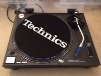 Technics Turntables SL-12l0 MK2 including mixer, speakers, stand and much more