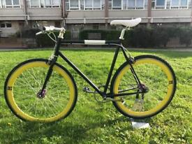 No logo single speed custommade fully restored Roger Garage