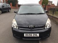 56 REG Toyota Corolla Verso 2.2 D-4D TR Diesel 5dr 7 SEATER,SERVICE HISTORY HPI CLEAR 07459871313