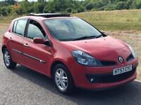 Renault Clio 1.2 TCe 16v Dynamique 5dr Panoramic Roof, Full S History
