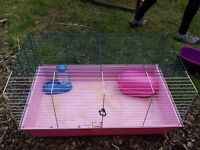 Second hand small animal cage & accessories