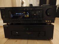 Sony Power Amplifier & Pre Amplifier