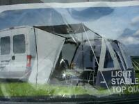 Drive away awning