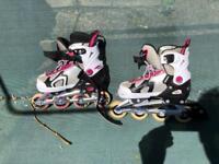 Girls Sendai roller blades.