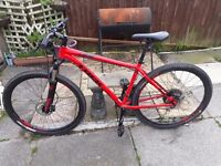 Red&Black Trek xcaliber 8, 2017. 29inch wheels, large frame. Perfect conditon. GLOSSOP