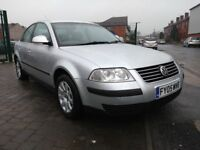 2005 Volkswagen Passat 1.9 TDI PD Trendline,FULL SERVICE HISTORY,WARRANTY & BREAKDOWN INCLUDED,£1395