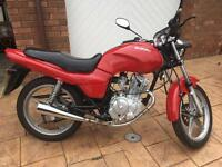 Suzuki GX125 fully refurbished