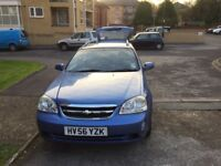Chevrolet Lacetti Station Wagon (2006) less than 50,000 miles