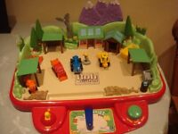 BOB THE BUILDERS YARD GAME BATTERIES INCLUDED + BARROW UP BOB ACTION GAME