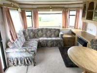 Atlas Oakwood Static Caravan for Sale, site fees paid until 2019! On a fantastic park in Silloth