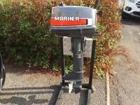 Mariner 4hp outboard motor , superb condition