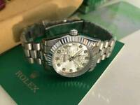LADIES Rolex Datejust Silver Dial & Case Automatic