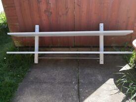Ikea Varde wood wall shelving £20