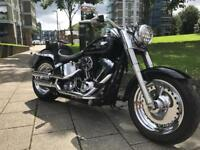 Harley Davidson fatboy 103 many extra £11995 make offers