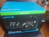 Logitech G920 + shifter (barely used)