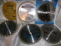Assorted Circular Saw Blades