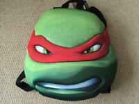 Teenage Mutant Ninja Turtles Raphael Backpack! New With Tags