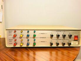 Vintage Bandbox Headphone Amp