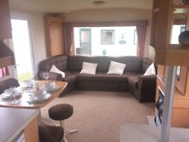 STATIC CARAVAN FOR SALE AT WHITLEY BAY HOLIDAY PARK COASTAL LOCATION SITE FEES INCLUDED