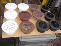 Vents, Plastic, For RV's, Campers, Reno projects, 4 for $10.00