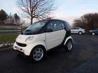 MERCEDES SMART CITY PULSE SEMI AUTOMATIC CREAM/BLACK ONLY 74K MILES BARGAIN 1450 *LOOK* PX/DELIVERY
