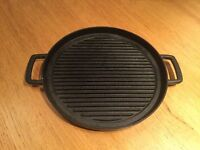 Japanese Cast Iron Grill Plate. Works on Induction Stove Top