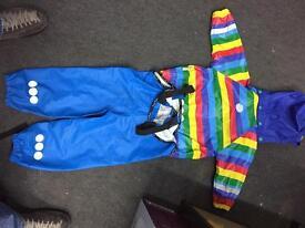 Kosovo kids jacket and trouser set