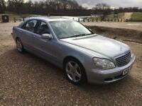 2005 05 MERCEDES S320 CDI AUTOMATIC LIMOUSINE SPEC FULLY LOADED TOO MANY EXTRAS-£2900