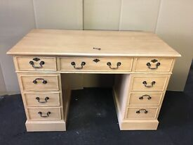 Office desk 9 drawer used